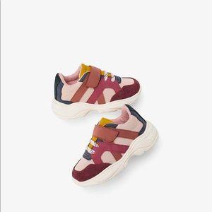 Zara Baby Girl Velcro Sneaker